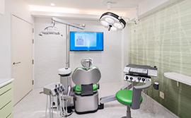 リラックスできる個室診療室
